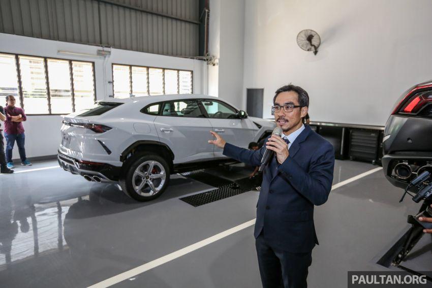 Lamborghini Kuala Lumpur unveils its revamped Glenmarie 3S centre, featuring automaker's new CI Image #861047