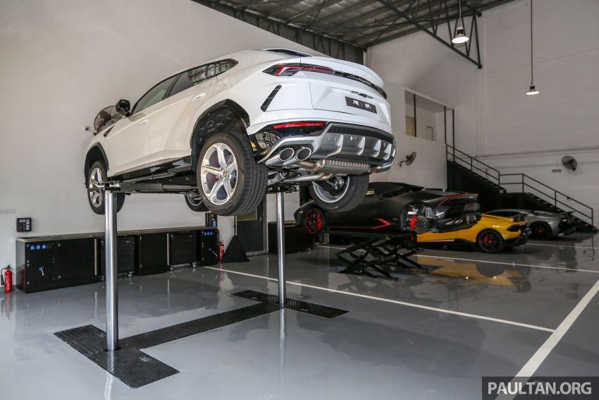 Lamborghini Kuala Lumpur unveils its revamped Glenmarie 3S centre, featuring automaker's new CI Image #861053