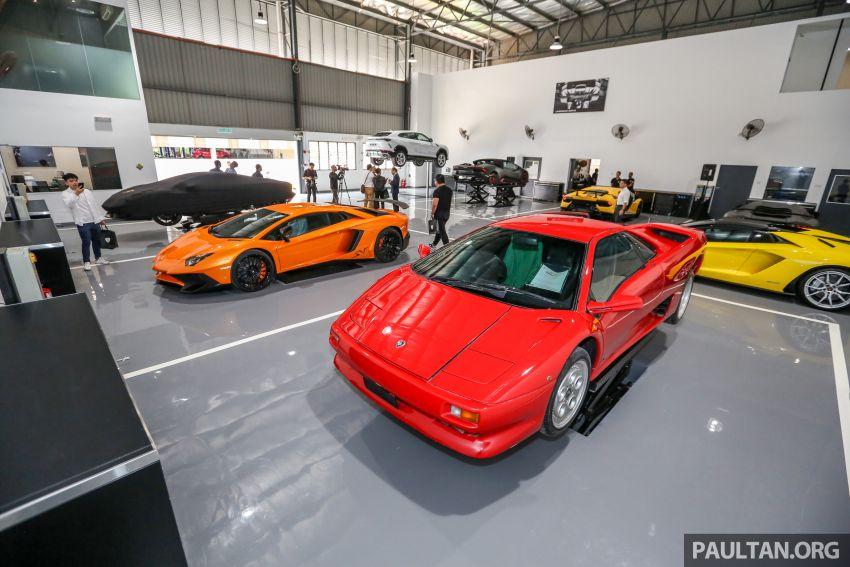 Lamborghini Kuala Lumpur unveils its revamped Glenmarie 3S centre, featuring automaker's new CI Image #861062