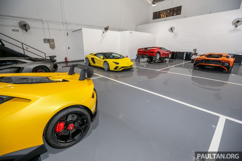 Lamborghini Kuala Lumpur unveils its revamped Glenmarie 3S centre, featuring automaker's new CI Image #861063