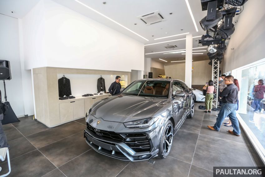 Lamborghini Kuala Lumpur unveils its revamped Glenmarie 3S centre, featuring automaker's new CI Image #861074