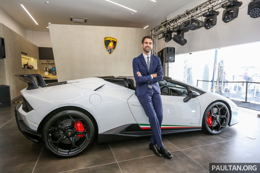 Lamborghini Kuala Lumpur unveils its revamped Glenmarie 3S centre, featuring automaker's new CI Image #861078