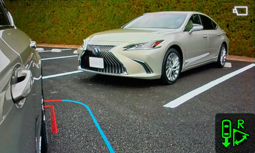 Lexus Digital Outer Mirrors debuts on the new ES in Japan – cameras and screens as wing mirrors Image #859416