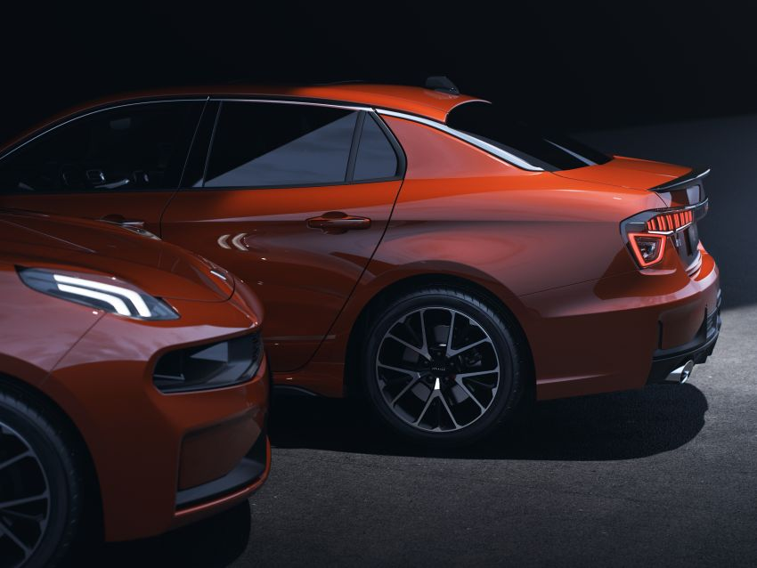 Lynk & Co 03 makes its debut at Chengdu Motor Show Image #856871