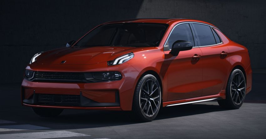 Lynk & Co 03 makes its debut at Chengdu Motor Show Image #856872