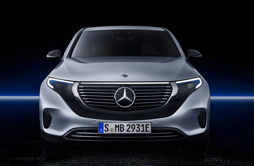 2019 Mercedes-Benz EQC unveiled – 450 km range Image #858023