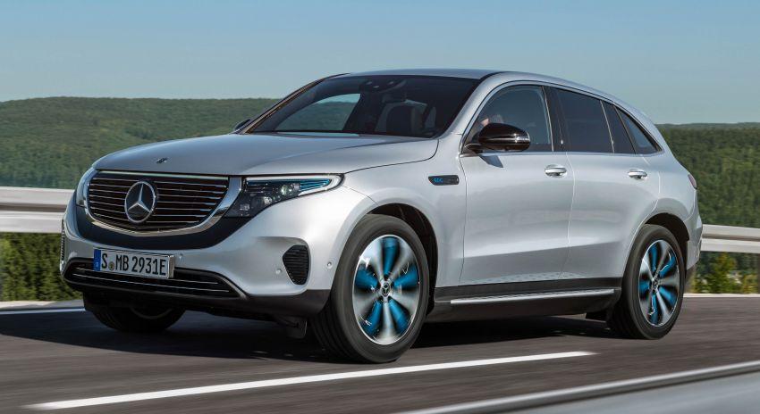 2019 Mercedes-Benz EQC unveiled – 450 km range Image #858032
