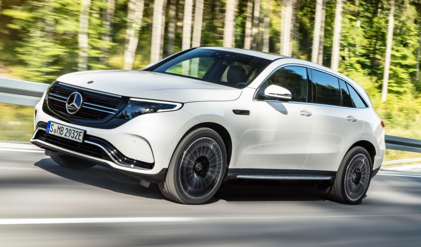 2019 Mercedes-Benz EQC unveiled – 450 km range Image #858038
