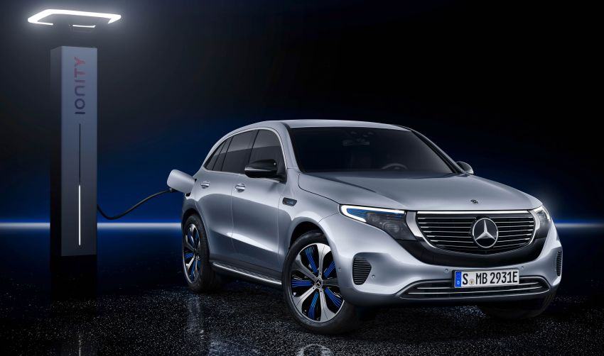 2019 Mercedes-Benz EQC unveiled – 450 km range Image #858024