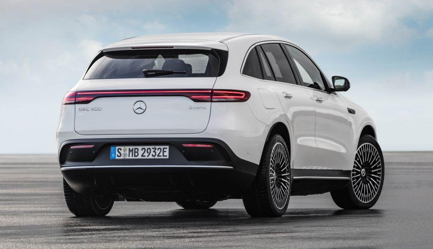 2019 Mercedes-Benz EQC unveiled – 450 km range Image #858042