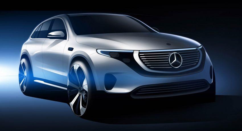 2019 Mercedes-Benz EQC unveiled – 450 km range Image #858048