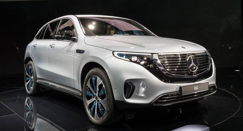2019 Mercedes-Benz EQC unveiled – 450 km range Image #858051