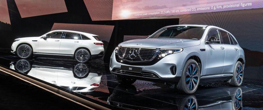 2019 Mercedes-Benz EQC unveiled – 450 km range Image #858052