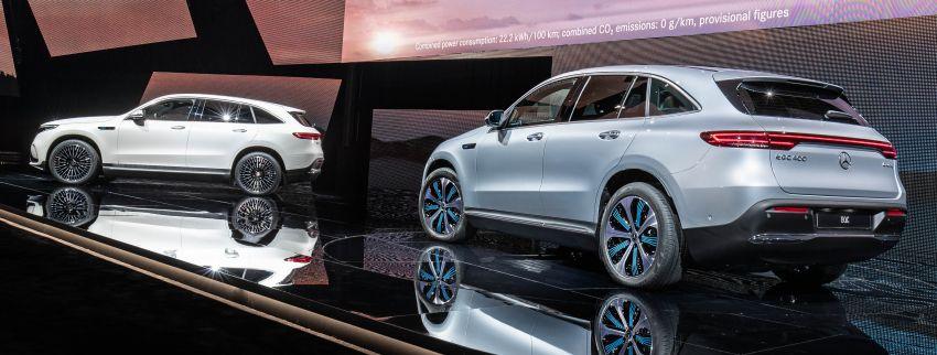 2019 Mercedes-Benz EQC unveiled – 450 km range Image #858054