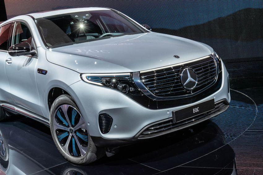 2019 Mercedes-Benz EQC unveiled – 450 km range Image #858057