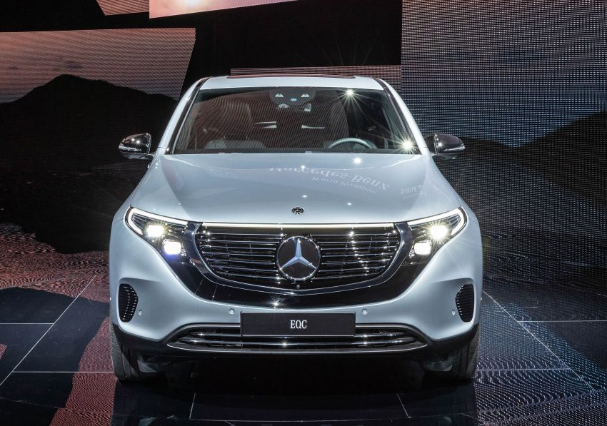 2019 Mercedes-Benz EQC unveiled – 450 km range Image #858058