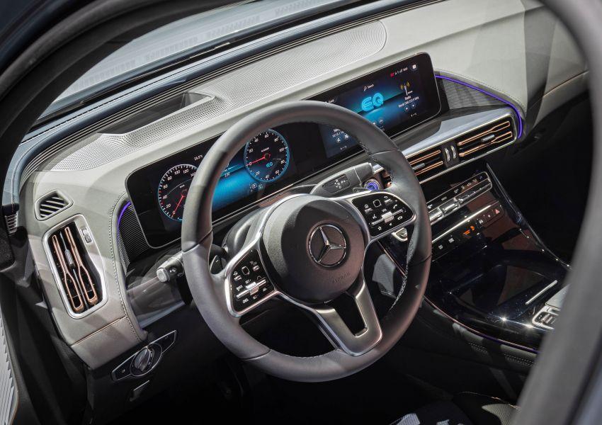 2019 Mercedes-Benz EQC unveiled – 450 km range Image #858059
