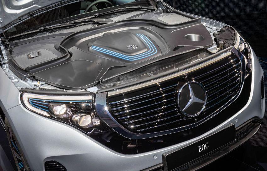 2019 Mercedes-Benz EQC unveiled – 450 km range Image #858060