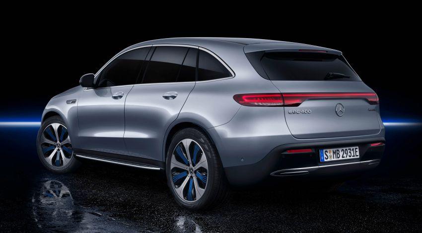 2019 Mercedes-Benz EQC unveiled – 450 km range Image #858026