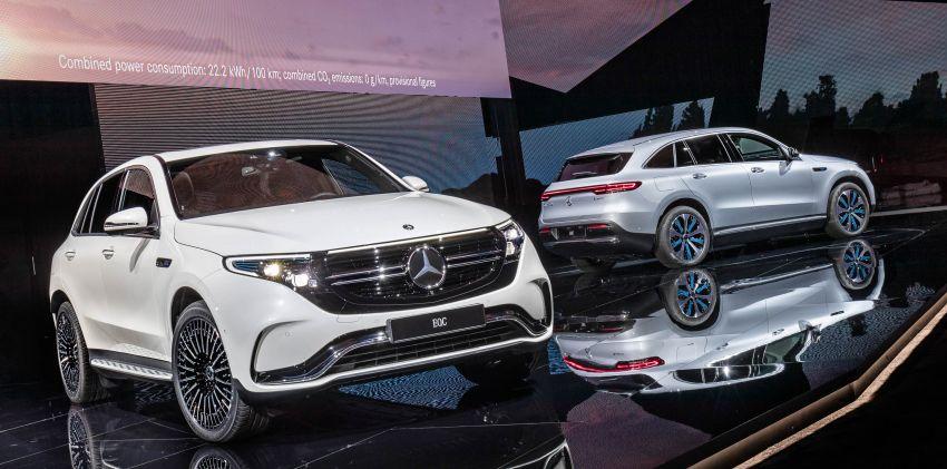 2019 Mercedes-Benz EQC unveiled – 450 km range Image #858065