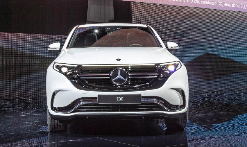 2019 Mercedes-Benz EQC unveiled – 450 km range Image #858067