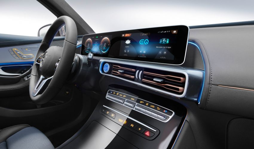 2019 Mercedes-Benz EQC unveiled – 450 km range Image #858027