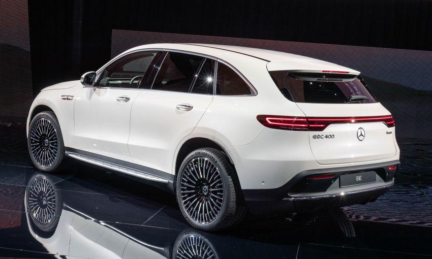 2019 Mercedes-Benz EQC unveiled – 450 km range Image #858077