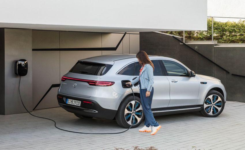 2019 Mercedes-Benz EQC unveiled – 450 km range Image #858029