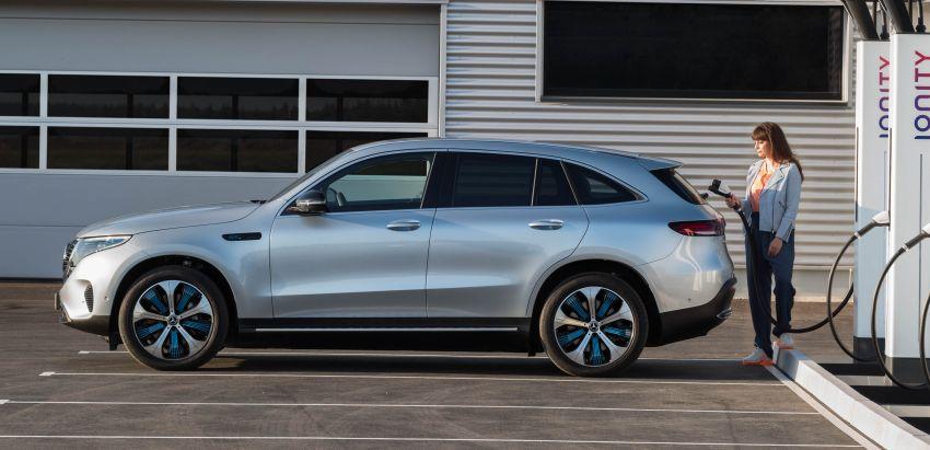 2019 Mercedes-Benz EQC unveiled – 450 km range Image #858031