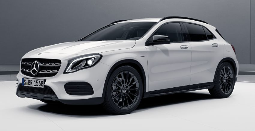 Mercedes-Benz CLA 200 Night Edition and GLA 200 Night Edition introduced – RM243k and RM245k Image #859223