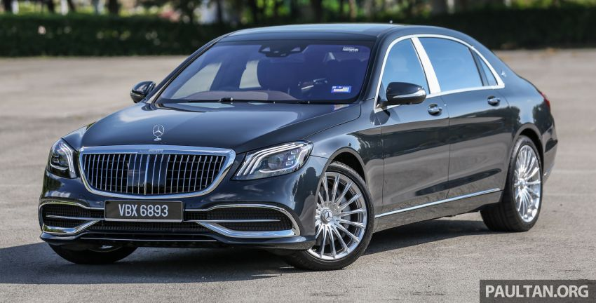 FIRST DRIVE: Mercedes-Maybach S-Class – RM1.4m Image #860727