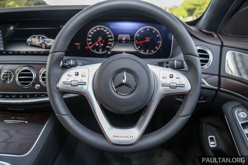 FIRST DRIVE: Mercedes-Maybach S-Class – RM1.4m Image #860777
