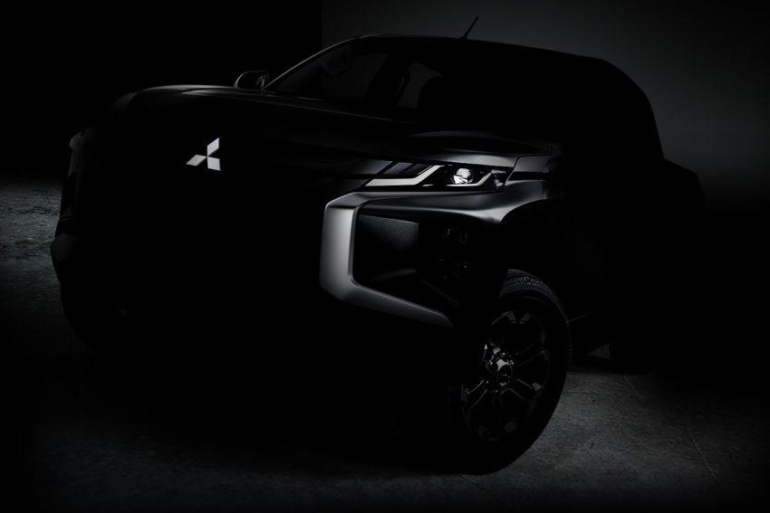 Mitsubishi Triton <em>facelift</em> dengan muka Dynamic Shield – imej <em>teaser</em> disiar, bakal didedahkan tidak lama lagi Image #861609