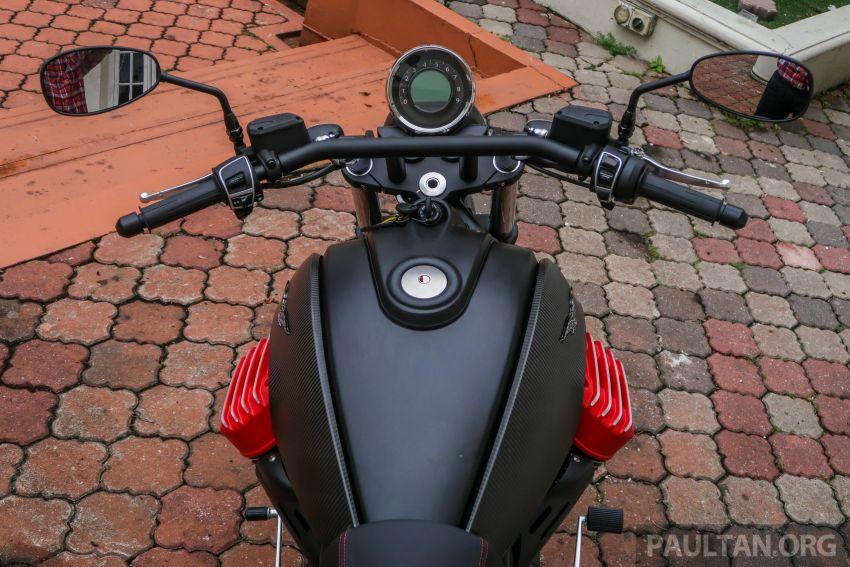 Moto Guzzi Audace Carbon tiba di Malaysia – RM123k Image #862029