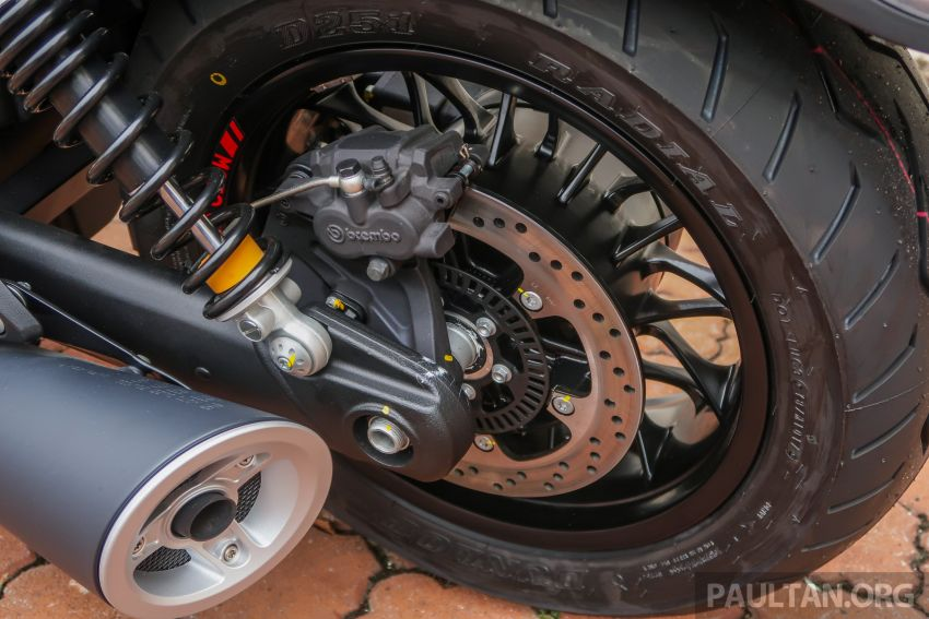 Moto Guzzi Audace Carbon tiba di Malaysia – RM123k Image #862035