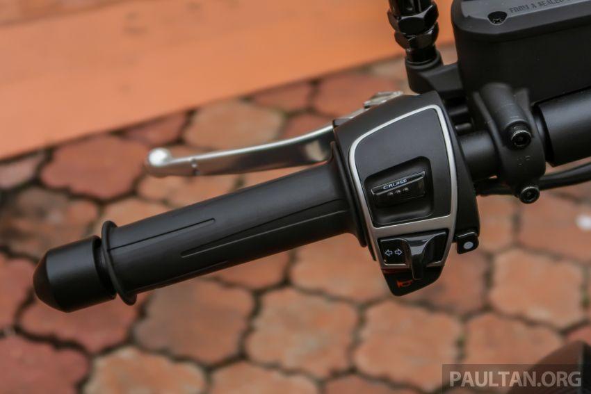 Moto Guzzi Audace Carbon tiba di Malaysia – RM123k Image #862044