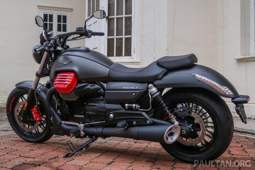 Moto Guzzi Audace Carbon tiba di Malaysia – RM123k Image #862020