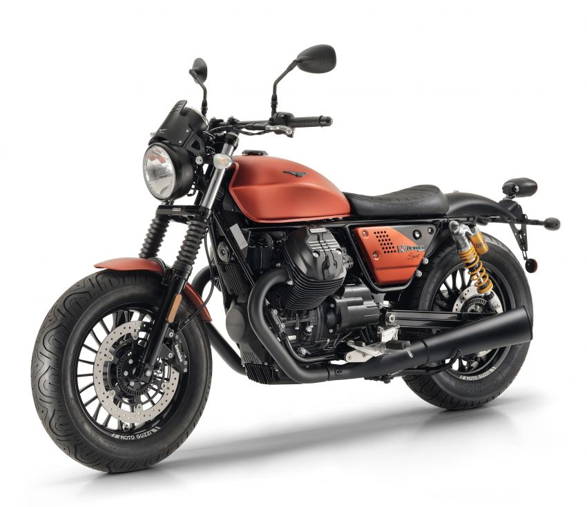 Moto Guzzi V9 Bobber Sport – gaya unik, lebih sporty Image #861484
