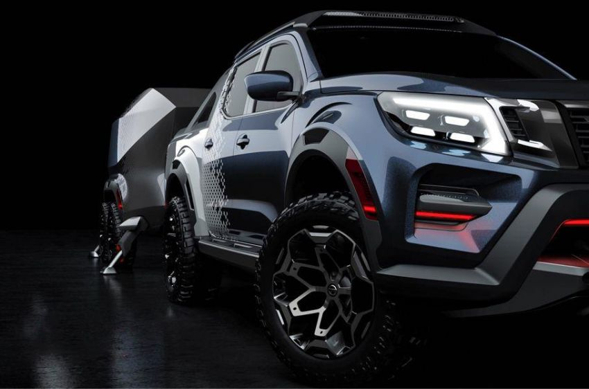Nissan Navara Dark Sky Concept leaked prior to debut Image #862498