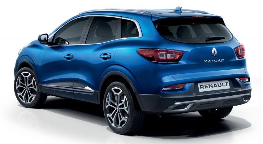 Renault Kadjar facelift gets updated styling, engines Image #860121