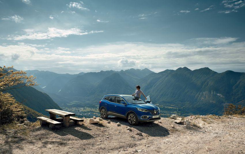 Renault Kadjar facelift gets updated styling, engines Image #860146