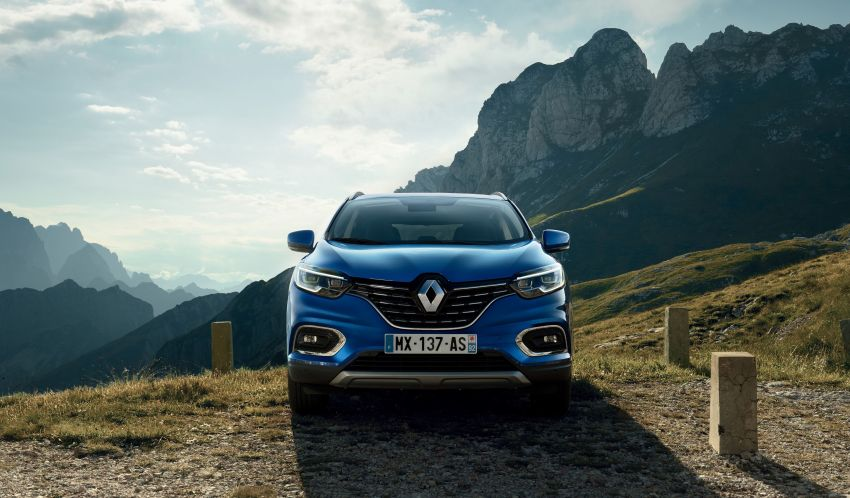 Renault Kadjar facelift gets updated styling, engines Image #860151