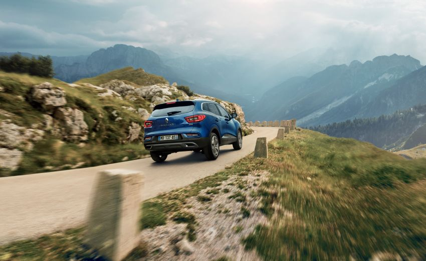 Renault Kadjar facelift gets updated styling, engines Image #860153