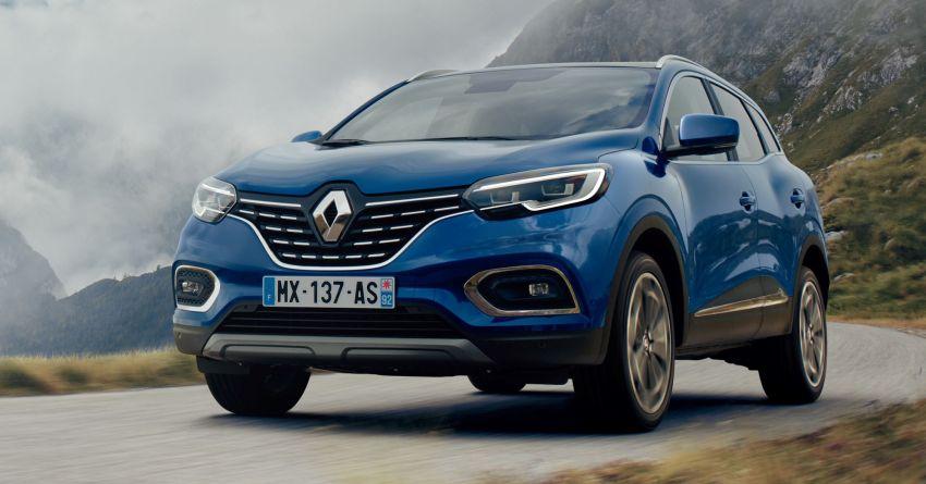 Renault Kadjar facelift gets updated styling, engines Image #860154