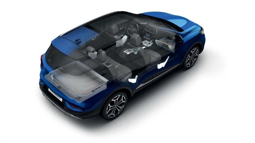 Renault Kadjar facelift gets updated styling, engines Image #860158