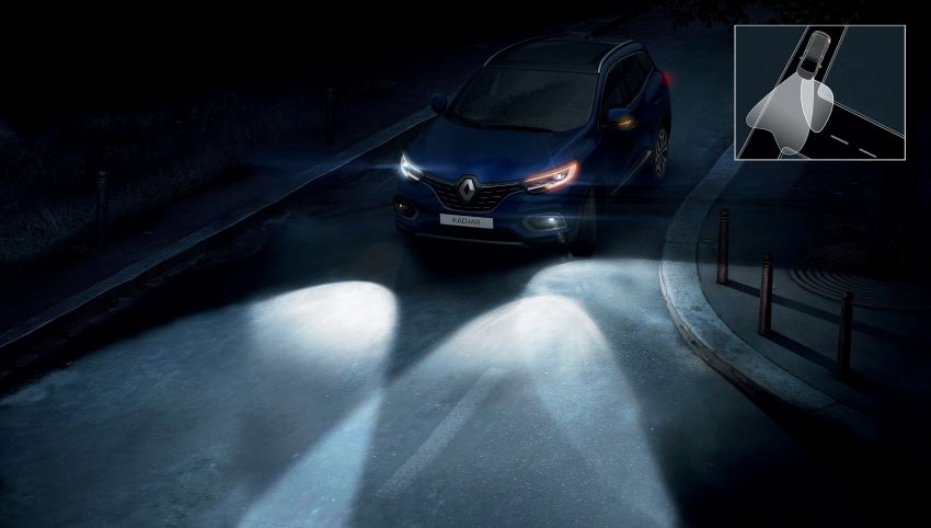 Renault Kadjar facelift gets updated styling, engines Image #860165