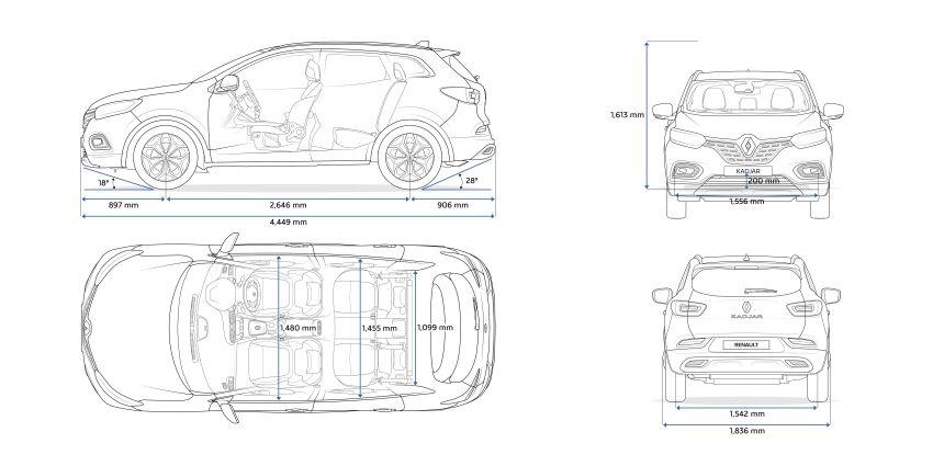 Renault Kadjar facelift gets updated styling, engines Image #860175