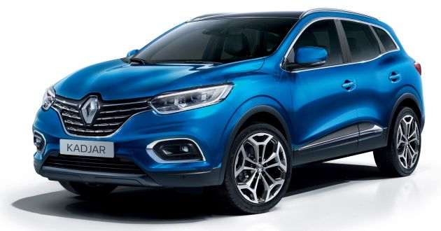 renault kadjar facelift gets updated styling engines. Black Bedroom Furniture Sets. Home Design Ideas