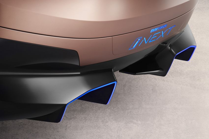 BMW Vision iNEXT previews all-electric SUV for 2021 Image #895753