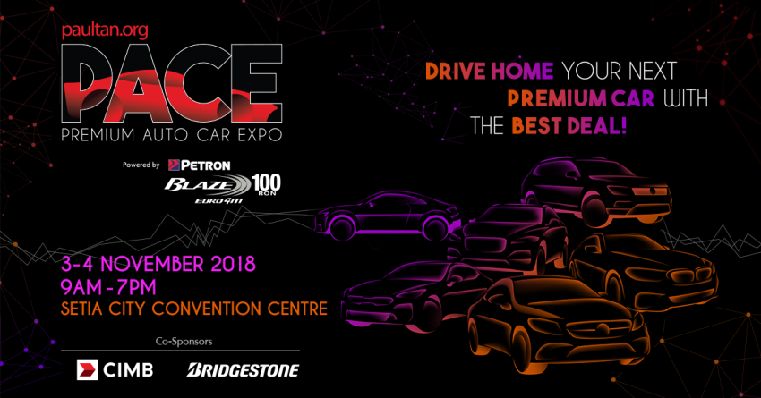 <em>paultan.org</em> PACE at Setia City Convention Centre – get the best deals on premium cars this November! Image #857506